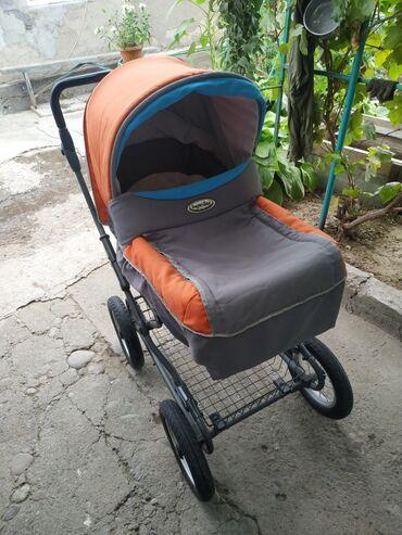 Коляски в Беловодское: Продаю коляску б/у, можно использовать как авто кресло