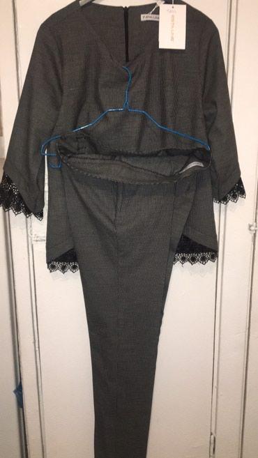 Брючный костюм женский вечерний - Кыргызстан: Коассический брючный костюм. Турция