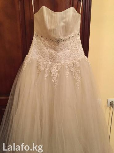 свадебные платья бу в Кыргызстан: Срочно продаю свадебное платье с заниженной талией. На фото без