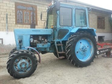 Kənd təsərrüfatı maşınları - Salyan: Zavocqoy traktordu qabağıda işləyir . 1025 lədə barter olunur