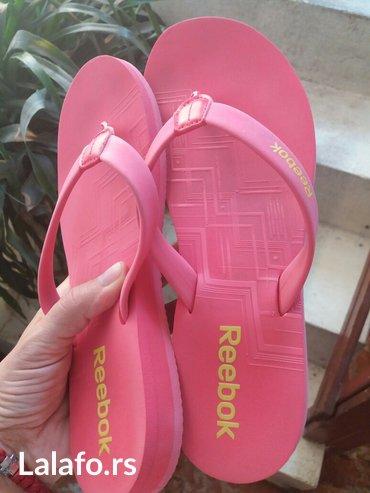 Reebok papuce kao nove skoro uopste nisu nosene,samo kupljene i - Sokobanja