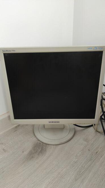 биндеры 17 листов лучшие в Кыргызстан: Продаю монитор Samsung, 17 дюймов. Квадратный