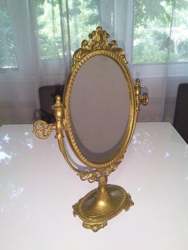 Ogledalo i svecnjak od mesinga, 40 eura po komadu ili 70 eura zajedno - Belgrade