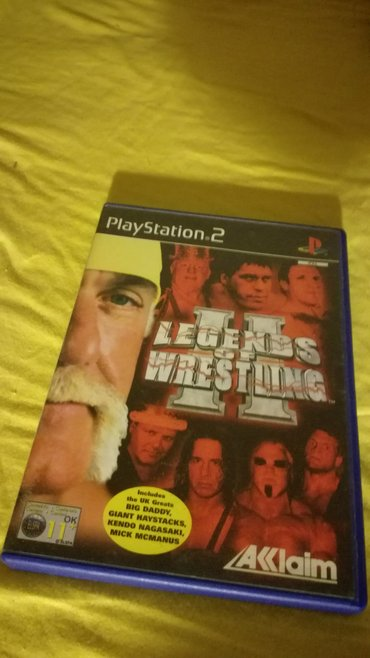 Legends of Wrestling II Playstation 2 PAL Version σε Παλλήνη