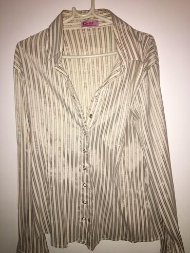 Košulje i bluze | Novi Pazar: Svilenkasta,elasticna kosulja M/L
