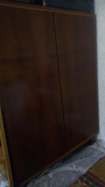 Bakı şəhərində 2 Qapili Shfoner Paltar Shkafi Rumuniya Istehsali 70 Azn