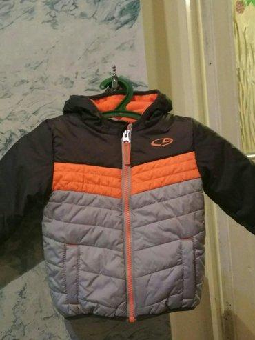 Куртка деми на мальчика. На тонком синтепоне и флисовый подклад. Фирма в Бишкек