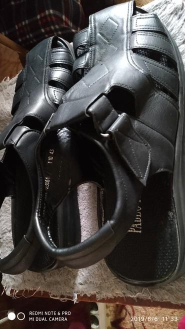 Мужские сандалии 43 размер(новые,в коробке)