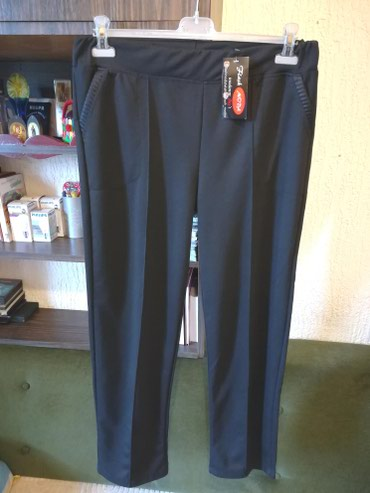 Crne pantalone sa dzepovima - Srbija: Nove zenske pantalone za punije Flash Moda. Turske. Odlicne zenske