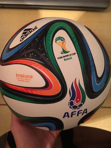 Bakı şəhərində Original AFFA-nin topu.Adidas firmasi.