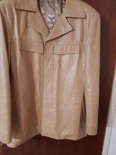 Kozne jakne - Srbija: Nova,svega nekoliko puta obucena muska kozna jakna.Bez boje,ne