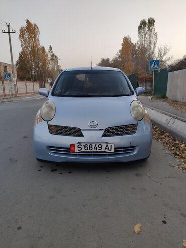 Транспорт - Кыргызстан: Nissan March 1.3 л. 2002 | 190000 км