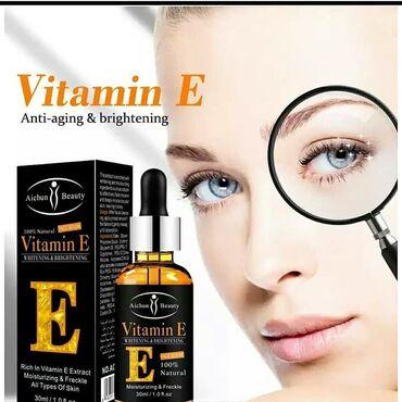 щи фей ши отбеливающий в Азербайджан: Aichun Beauty 100% натуральная кожа эссенция Витамин Е сыворотка