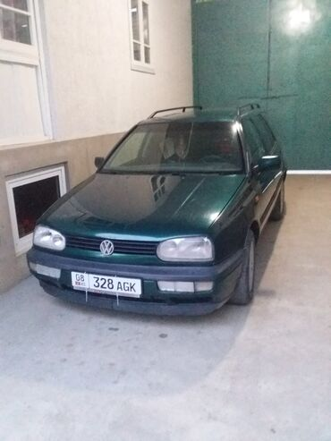 volkswagen-golf-бу в Кыргызстан: Volkswagen Golf 1.8 л. 1995 | 19870000 км