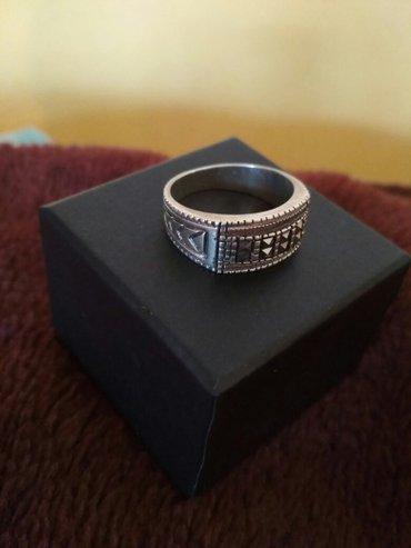 кольцо мужское. серебро. неношенное. очень стильное. реальному клиенту в Бишкек
