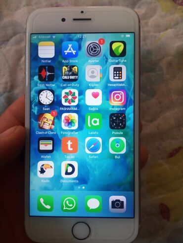 apple isə 6 b - Azərbaycan: İşlənmiş iPhone 6s 16 GB Cəhrayı qızıl (Rose Gold)