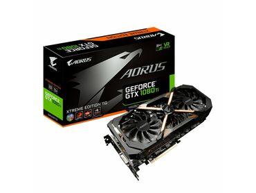 Продаю почти новую видеокарту Aorus GeForce GTX1080 Xtreme edition