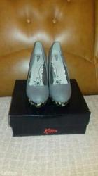 Kitten sive cipele  broj 40, nove! Lično preuzimanje - Novi Sad