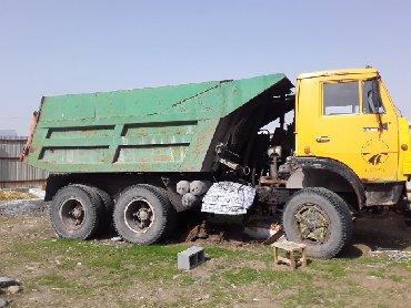 Услуги самосвалов - Кыргызстан: Камаз самосвал