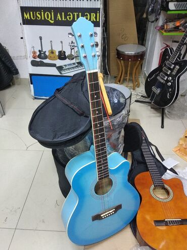 Гитары - Азербайджан: Akustik Gitara 🎸🎸Gitara Keyfiyyətli Orginal Model və Təzə ModelTam