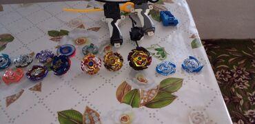 Детский мир - Токтогул: Продаются игрушки блей блейд на 3-2 игрока 3 запускалки новый 3 дня