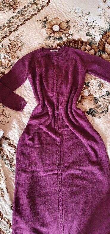 фиолетовое платье в пол в Кыргызстан: Платье турецкое, длина в пол. Состояние отличное