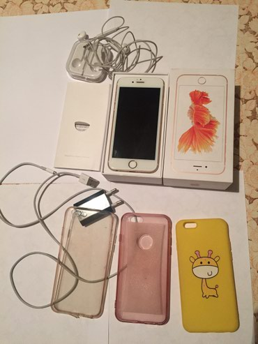 Продаю айфон 6s 16gb rose gold в полном в Бишкек