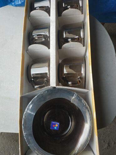 luminarc francuzskoe steklo в Кыргызстан: Набор luminarc первые выпуски чашка 6,5на 8,5 блюдце 14 см
