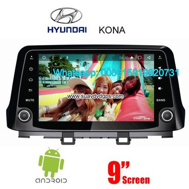 Hyunday kona stereo car audio radio android wifi gps camera in Kathmandu