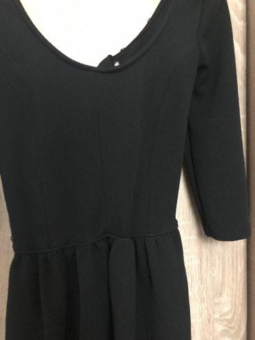 Crna haljina gore uska dole lepo pada - Veliko Gradiste - slika 2