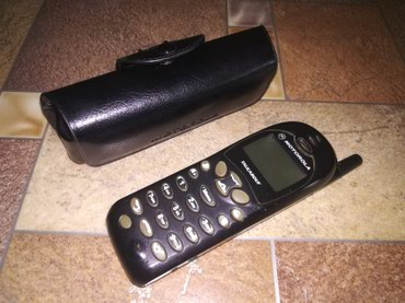 Motorola в Кыргызстан: Продаю легендарный телефон Motorola, старый. Работает или не работает