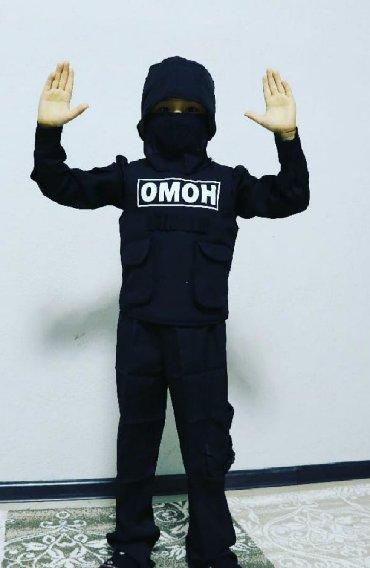 Продаю или сдаю новый карнавальный костюм ОМОН. Полный комплект! На 6-
