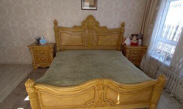 Кровать двуспальная Материал комбинированный дуб Венге Производство