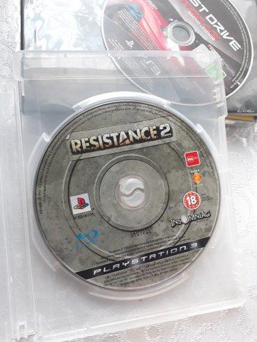 """Bakı şəhərində PS3 Ucun Tam Original Oyun Diskleri Satılır.. """" Resistance 2 """""""