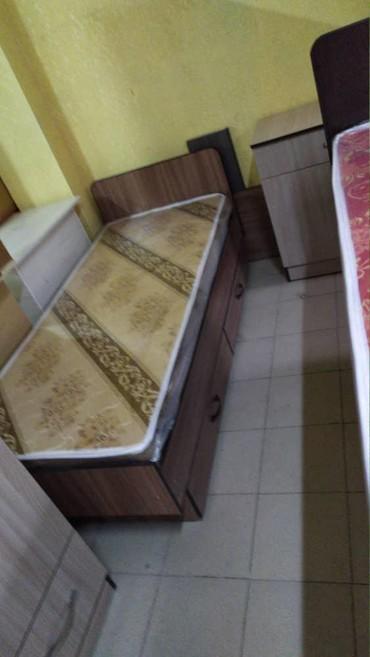 Продаю новый односпльный кровать с ящиком