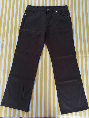 Pantalone cm - Srbija: Maslinasto zelene zenske pantalone vel 42Materijal: 98% pamuk, 2%