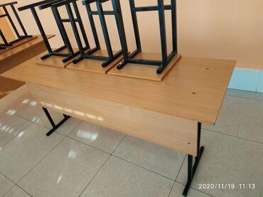 шредеры 12 14 на колесиках в Кыргызстан: Столы-блоки на три человека Столы - блоки 4шт Стулья - 14 шт Качествен