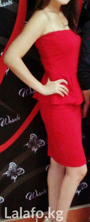Продаю красное платье Манго, в Бишкек