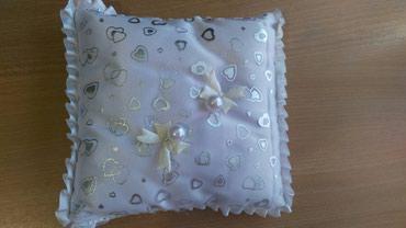 Подушка для колец,на свадьбу