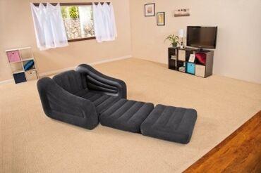 перегородки - Azərbaycan: Кресло-кровать INTEX 68565Товар новый и проверен на качество заводом