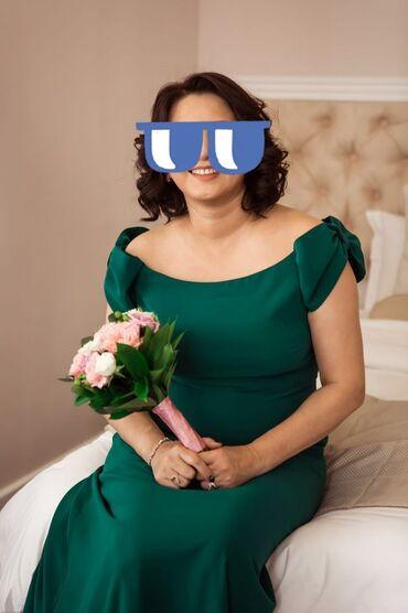 вечерние платья 50 размера в Кыргызстан: Платье вечернее в пол размер 50