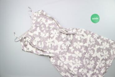 Жіноча нічна сорочка в квіти р. М    Довжина: 105 см Напівобхват груде