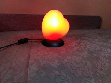 Ostalo za kuću | Kraljevo: Na prodaju stona lampa. Kvalitetna, lepog dizajna i boje. Uz nju ide