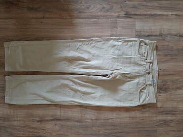 Zenske klasicne pantalone nemackoj - Srbija: Muske pantalone bež. Klasicne, veličina 48