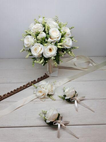 Свадебные букеты невесты Цена за набор Цветы искусственные хорошего