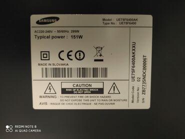 Samsung e1200 - Azərbaycan: 75 inc smart tipli samsung televizor