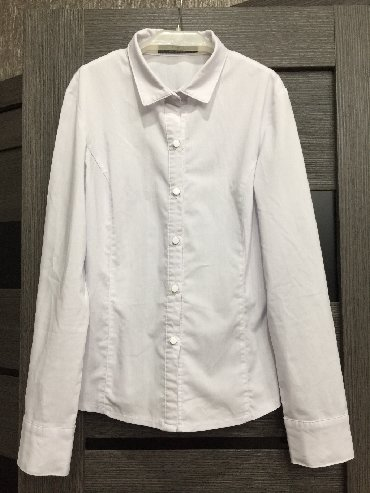 Школьные блузки - Кыргызстан: Корейская школьная блузка на девочку 10-11 лет