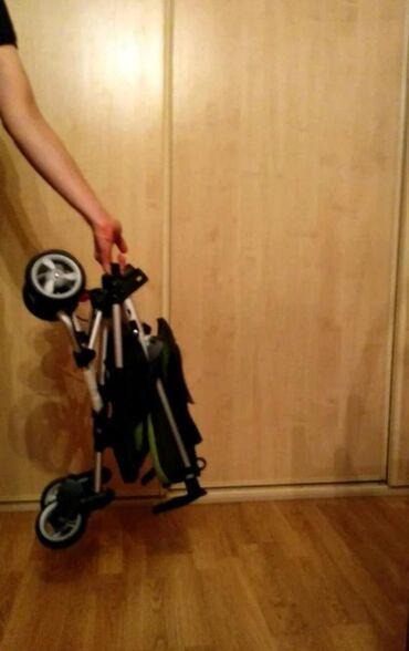 коляска-voondo-2в1 в Кыргызстан: Коляска стильная! Ортопедическая спинка,удобный подголовник, пяти