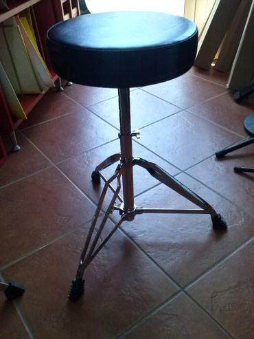 NOVO - Profi Bubnjarske stolice - duple noge ,debelo sediste,saljemo - Novi Sad