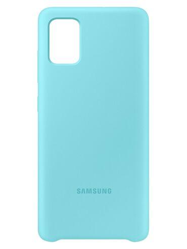 Чехол силиконовый для Samsung A51 город Ош